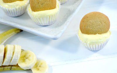 Mini-Banana Cream Cheesecake Pies Recipe | Banana Dessert