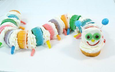 Caterpillar Cupcake Cake Recipe | Fun Cupcake Cake