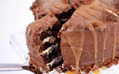 Chocolate Turtle Cake Recipe | Easy Turtle Cake