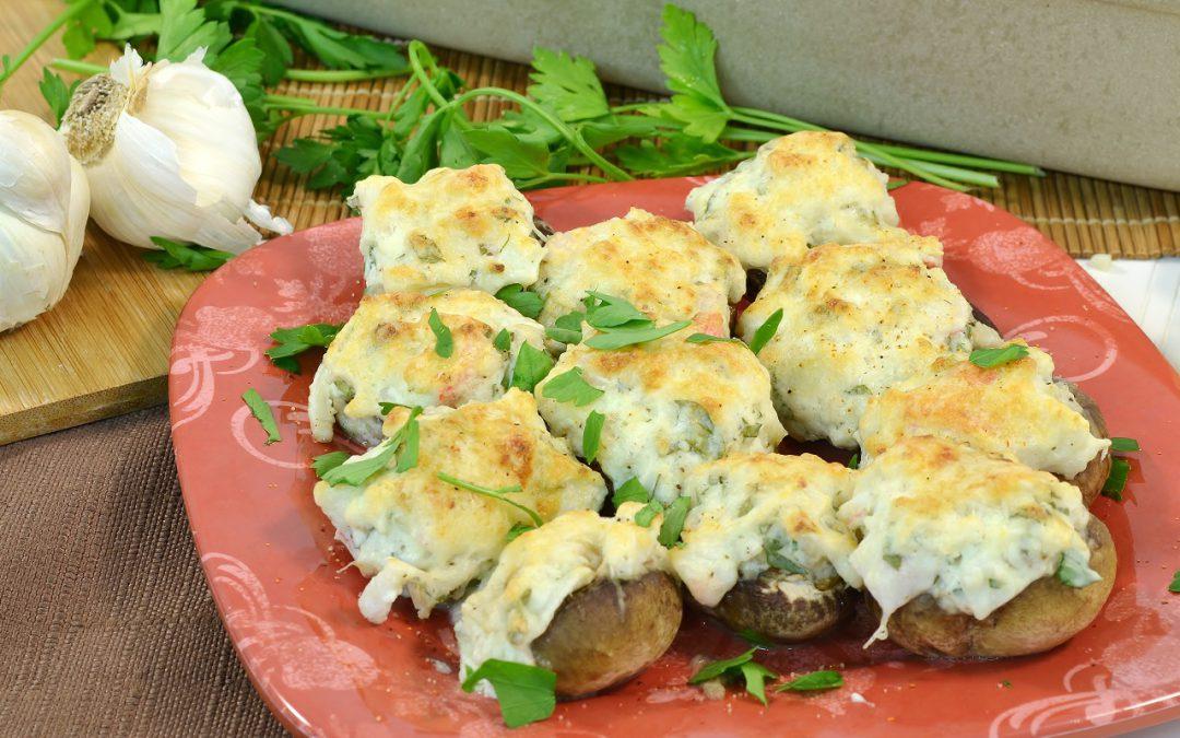 Crab-Stuffed Mushrooms Recipe | Recipe for Stuffed Mushrooms