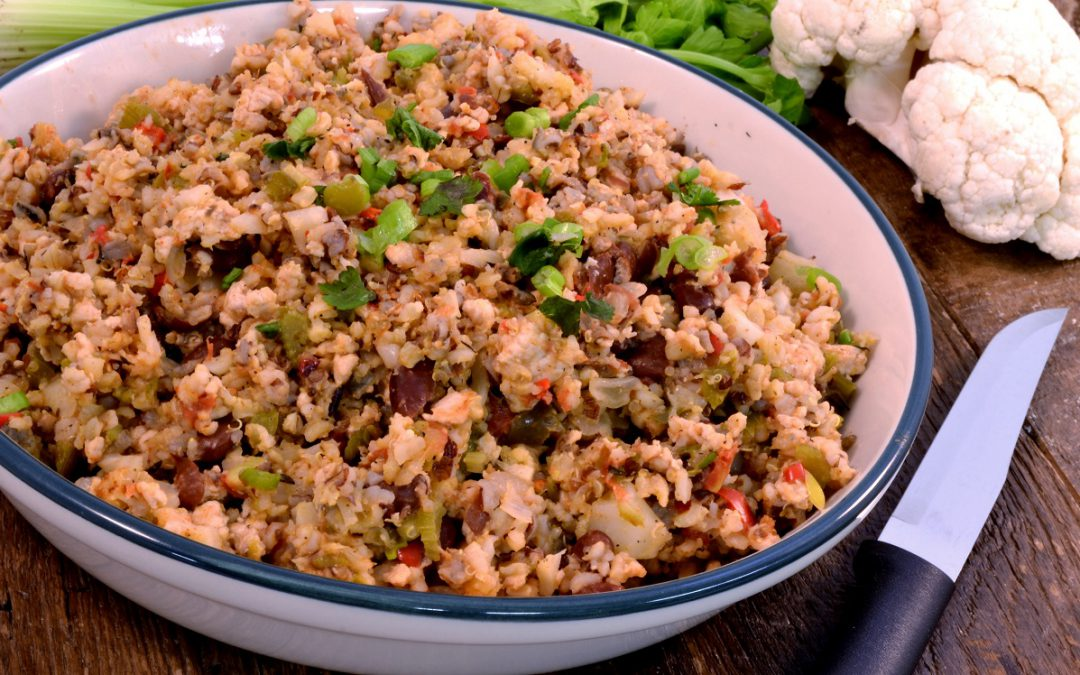 Healthy Dirty Rice Recipe | Healthy Vegetable Rice Dish