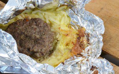 Foil Pack Sausage Breakfast Recipe | Tin Foil Breakfast