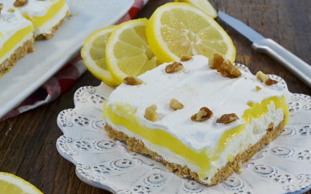 Lemon Delish Recipe | Lemon Pudding Cake