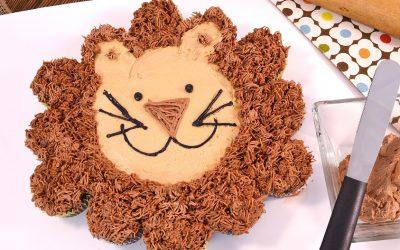 Cupcake Cake Lion Recipe | Fun Cupcake Recipe