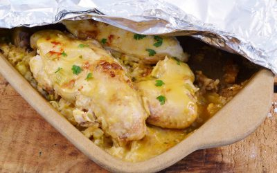 No Peek Chicken Recipe | Chicken and Rice Bake