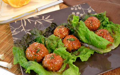 Asian Turkey Meatballs Recipe | Spicy Asian Meatballs