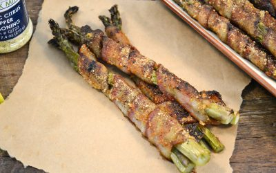 Bacon-Wrapped Asparagus Recipe | Oven-Roasted Bacon Asparagus