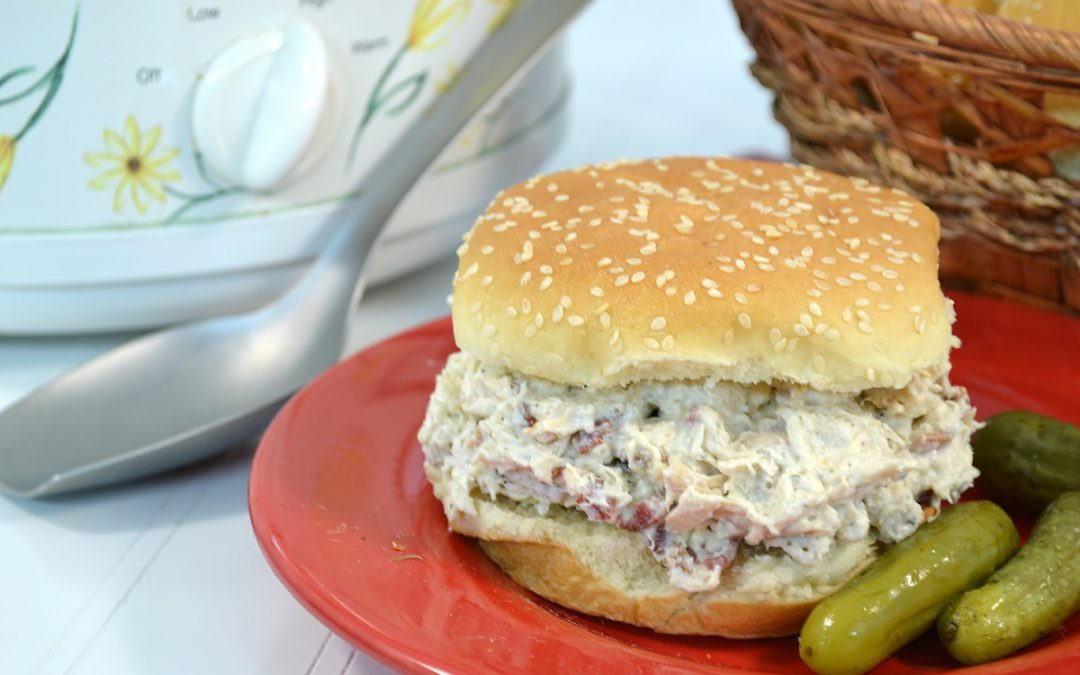Bacon Ranch Chicken Sandwich Recipe | Crock-Pot Chicken Sandwich