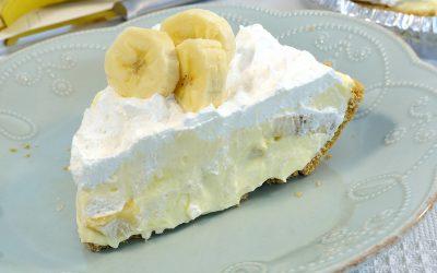Banana Cream Pie Recipe | Easy Banana Cream Pie