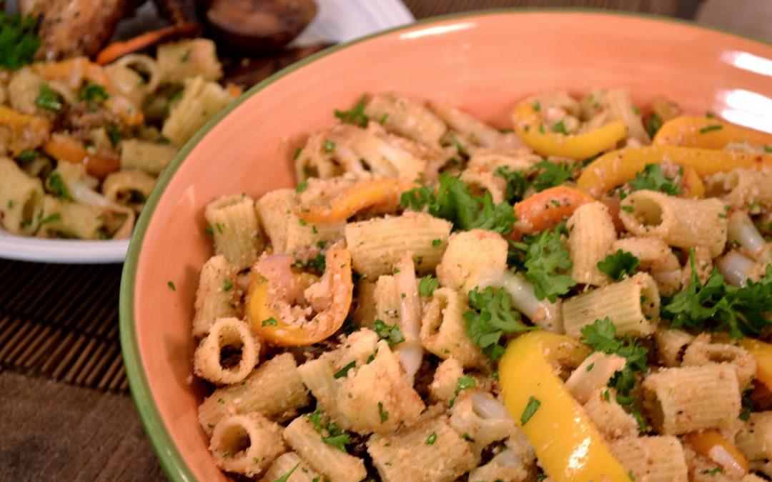 Cauliflower Rigatoni Recipe | Cauliflower Pasta