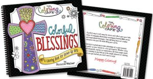 Rada's Colorful Blessings adult coloring book.