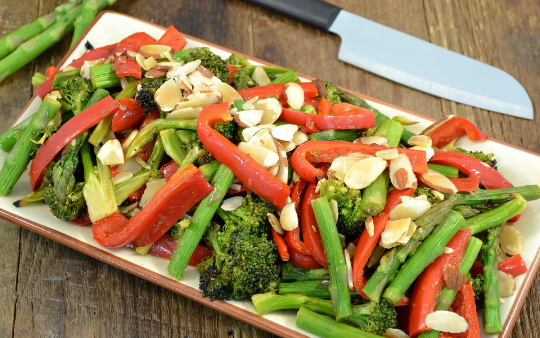 Honey and Soy Broiled Veggies Recipe | Vegetable Side Dish