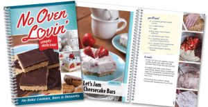 Rada's No Oven Lovin recipe book.