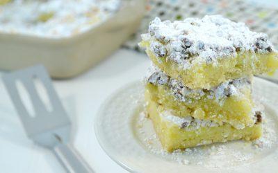 Ooey Gooey Bars Recipe | Butter Bars
