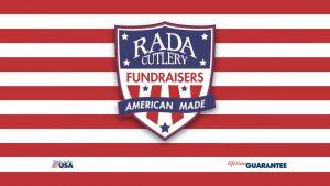 The Rada Cutlery fundraising logo.