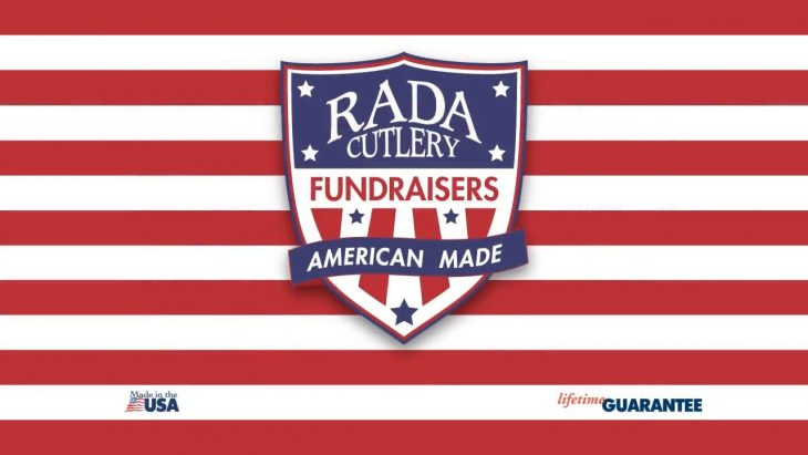 The Rada Cutlery fundraising logo.