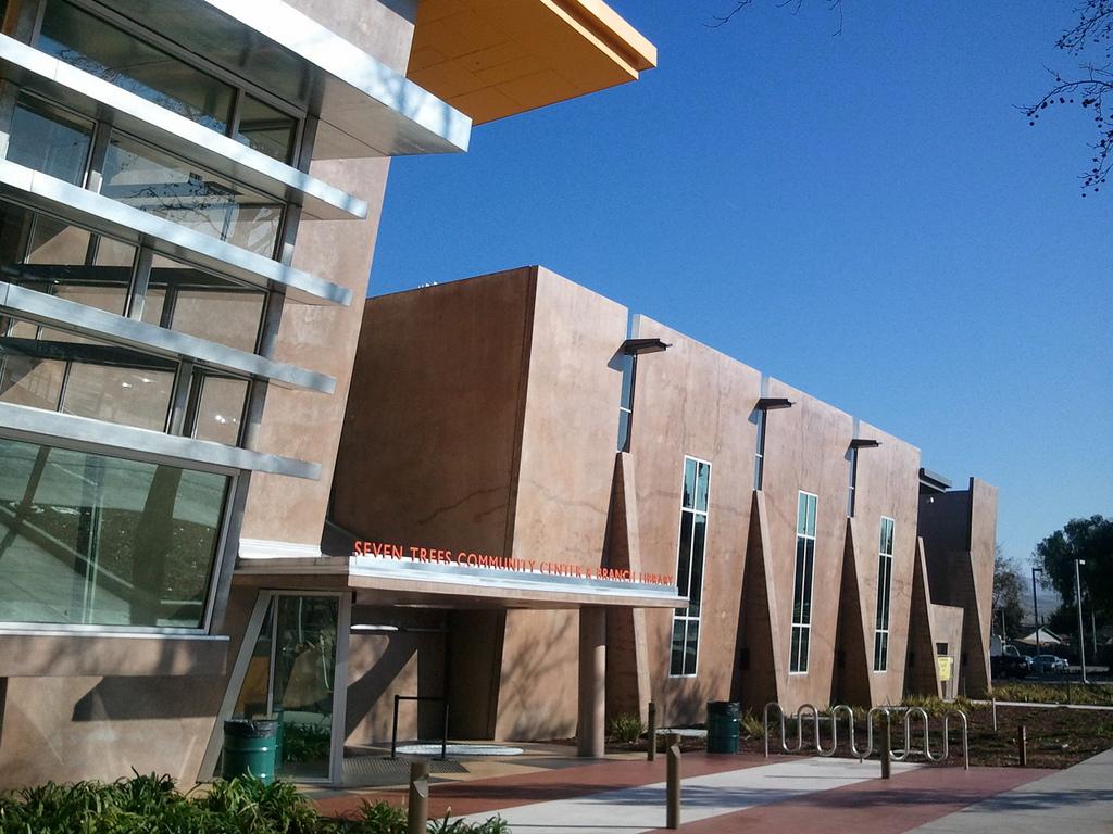 A beautiful local community center.