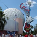Disney's Epcot Center during the day.