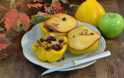 Autumn Harvest Stuffed Peppers | Easy Stuffed Peppers Recipe