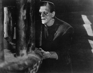 """Boris Karloff in James Whale's 1931 film """"Frankenstein."""""""