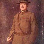 A regal painting of General John Pershing.