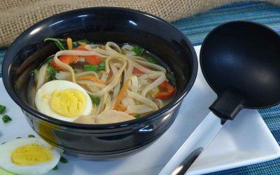 Ramen-Style Udon Noodle Soup Recipe | Ramen Soup