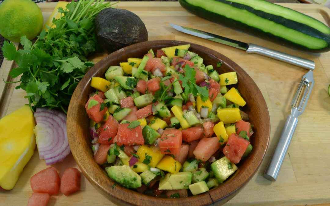 Watermelon Salsa Recipe | Easy Salsa Recipe