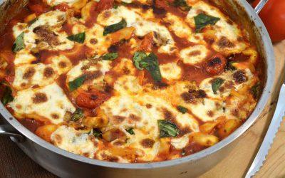 Tortellini Caprese Video | Easy Italian Cooking