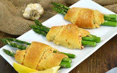 Asparagus Crescent Rolls | Crescent Rolls with Asparagus Recipe