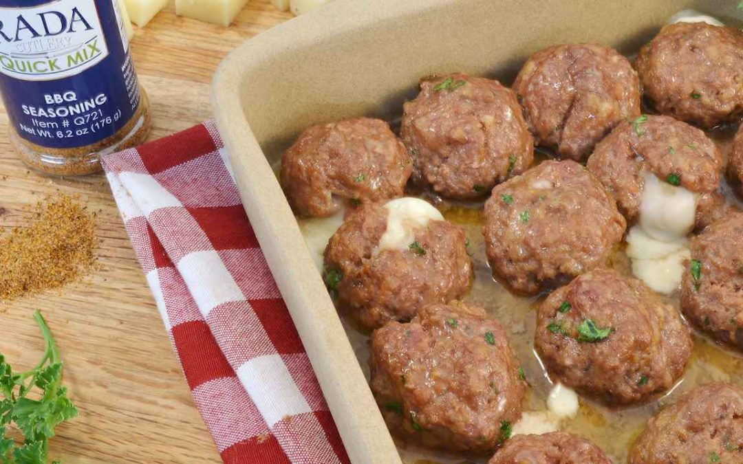 Cheese Stuffed Meatballs | Meatball Party Appetizer