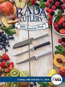 The 2018 Rada Cutlery Reseller Catalog.