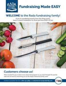 The Rada Cutlery EASY Guide.