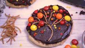 Delicious festive fall cookies.