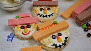 Delicious Not-So-Scary Scarecrow Cookies!