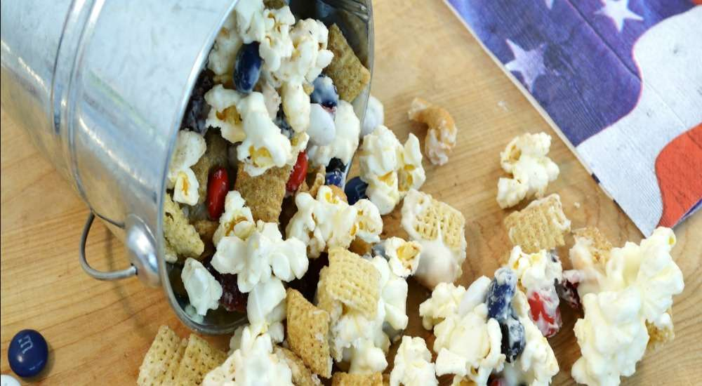 All-American Snack Mix Recipe | Popcorn Snack Mix