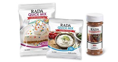 Rada Cheesecake, Dip, and Seasoning Mixes