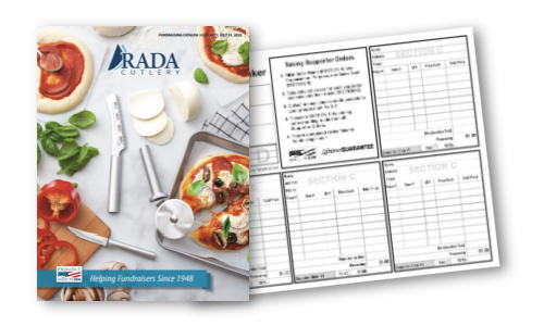 2021 Fundraising Catalog and Order Taker covers