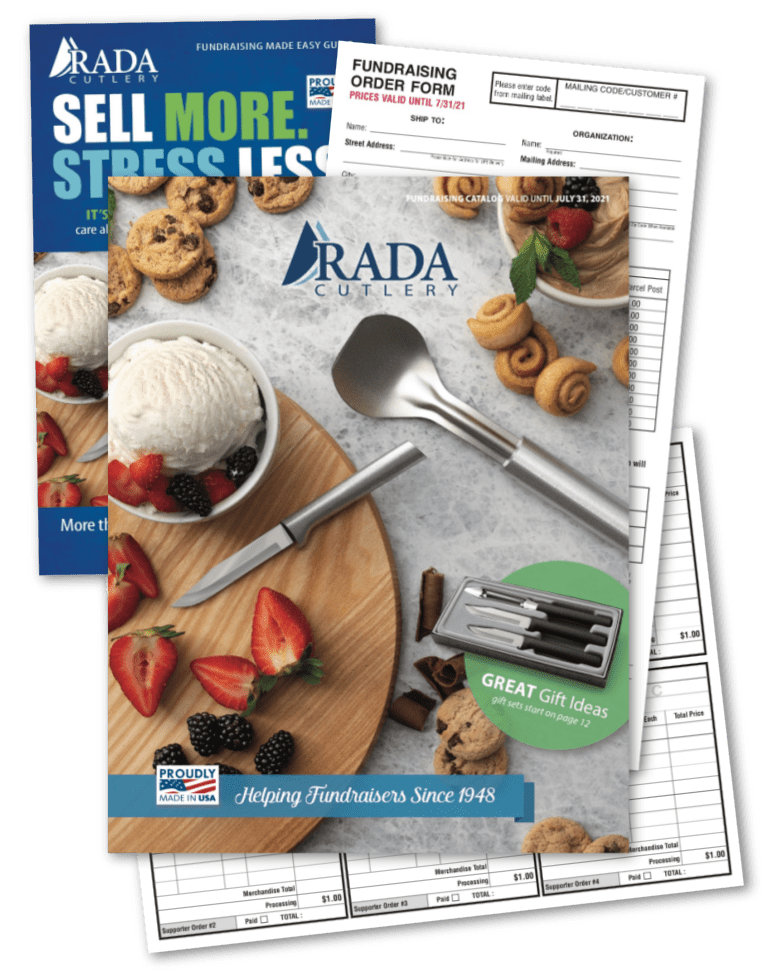 2021 Fundraising Catalog, Easy Guide, Order Taker, and Order Form Covers