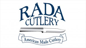 The Rada Cutlery logo symbolizes excellence in kitchen products and fundraising.