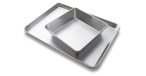Rada's New Uncoated Baking Pans